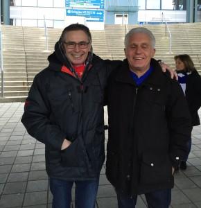 """In Eintracht vereint - Bayernfan und Schalke. Ein Erlebnis das sich jeder Rheinländer einmal im Leben gönnen sollte. Die Stadion-Tour beim Lieblingsverein, dem """"geilsten Club der Welt"""""""