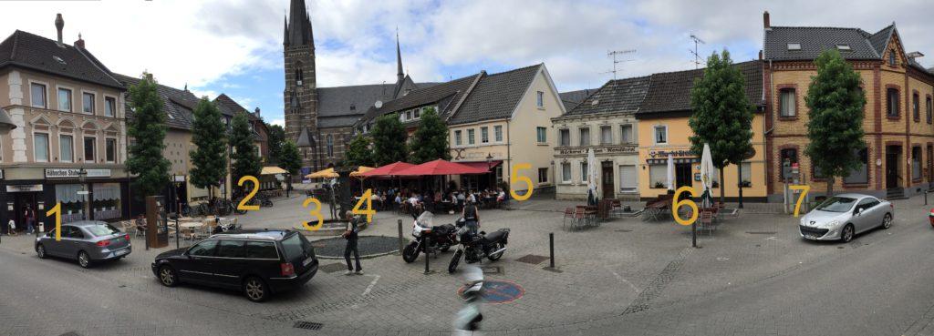 Gemütliche Atmosphäre rund um den Marktplatz