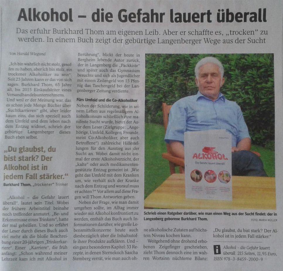 WAZ-Langenberger Zeitung 4.August 2016