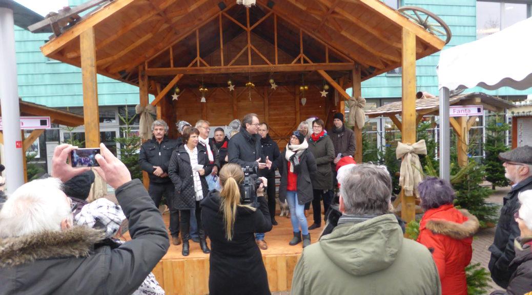 Feierliche Eröffnungs durch die Bürgermeisterin FRau Maria Pfordt